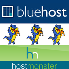 #Bluehost, #HostGator, and #HostMonster combine to form BlueGatorMonster, #fail